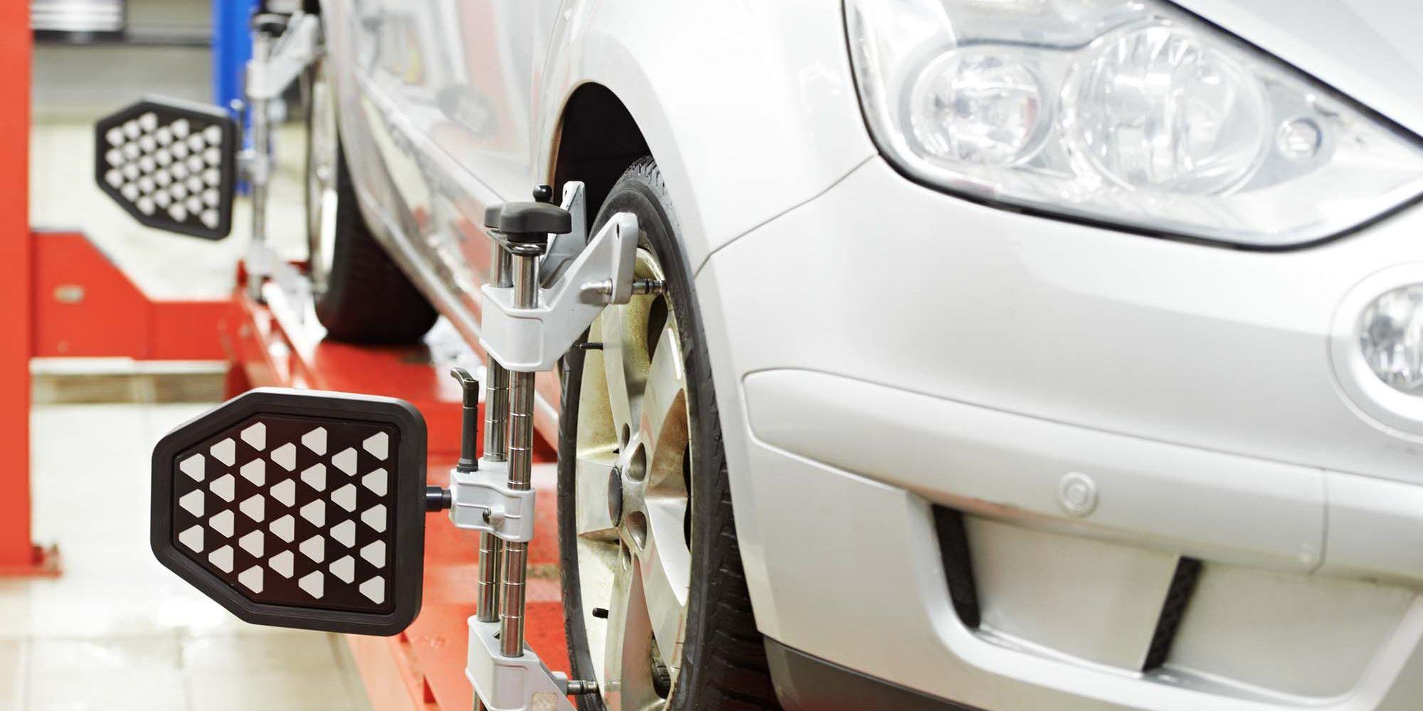 Car wheel alignment in Newcastle
