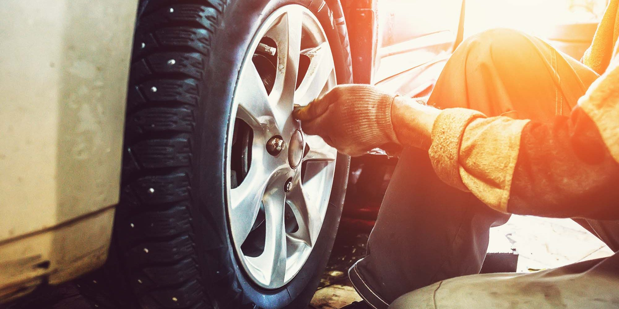 Wheel replacement in Newry