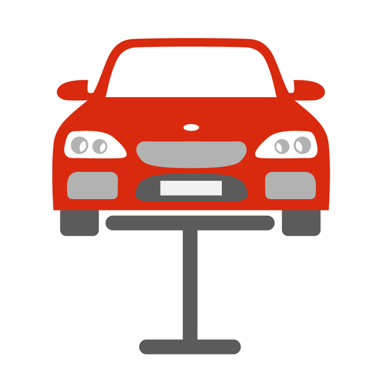Bumper repair icon
