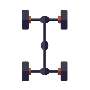 Chassis alignment icon